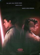Star Wars EP 2 Teaser EPISODE II original Kino Plakat A1 gerollt