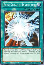 3x Burst Stream of Destruction - SDBE-EN021 - Common - Unlimited Edition Yugioh