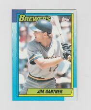 Jim Gantner Brewer 1990 Topps #417