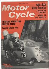 MOTOR CYCLE 25 MAY 67 25/5/67 NORTON ATLAS BSA VICTOR ROADSTER FRENCH GRAND PRIX