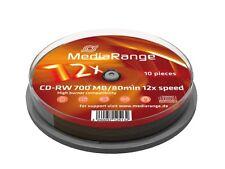 CD-RW per l'archiviazione di dati informatici 12x per 700MB