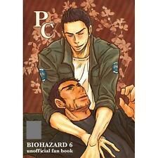BIOHAZARD Resident Evil Yaoi Doujinshi,Piers×Chris,PC,anagura+game,NEW,COMIKET83
