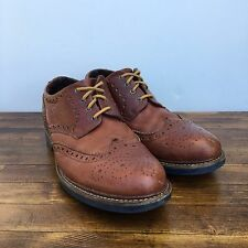 (10M) Floyd Brown Leather Wingtips Shoes Portugal Comfort camper