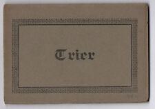 DÉPLIANT TOURISTIQUE TOURISME SOUVENIR Album de TRIER 9 Cartes postales CP