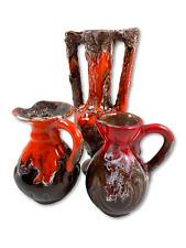 Trio de vases vintage Vallauris 11 et 19cm