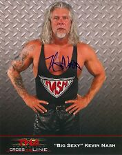 KEVIN NASH TNA SIGNED AUTOGRAPH 8X10 PROMO PHOTO W/ PROOF