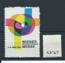 wbc. - CINDERELLA/POSTER - CF37 - EUROPE - WIENER INT.MESSE - 1968