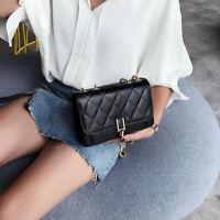 Women Crossbody Shoulder Strap Bags Casual Messenger Chain Mini Handbag FW