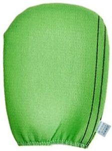 Korean Exfoliating Bath and Shower Sponge Body Towel Glove (2 Pack)