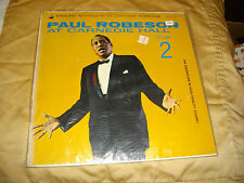 paul robeson at carnegie hall vol 2 lp vsd 2999 sealed  stain in packaging?