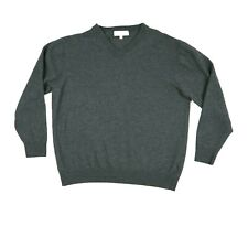 Turnbury Extra Fine Merino Wool Women's V-Neck Sweater Size XLT