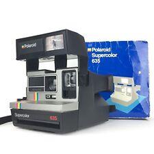 Polaroid Supercolor 635 + Boite (Testé) / Appareil Photo (film 600 super color)