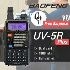 Baofeng UV-5R + Plus VHF UHF 136-174/400-520MHz Dual Band FM Two way Radio > V2+