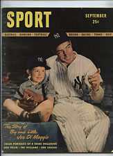 Sport Magazine #1 Joe DiMaggio 1946 Ben Hogan Bob Feller Joe Lewis Ott No Label