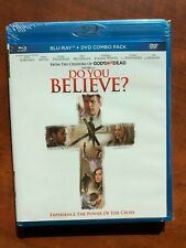 Do You Believe? BLU-RAY+DVD Pure Flix NEW Free Ship Brian Bosworth Sean Astin