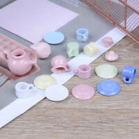 1:12 Dollhouse mini furniture accessories colorful ceramic teapot 15pcs/sWG