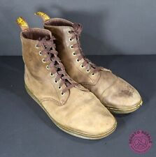 Dr. Doc Martens Tobias Brown Leather Boots Air Wair Men's Size 10 ~ SEE PICS