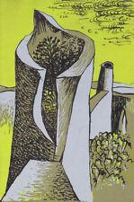 Estampes et gravures du XXe siècle et contemporaines originale encadrée paysage