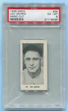 1928 W502 #26 LOU GEHRIG PSA 6 EX-MT W/ NO QUALIFIERS POP 3 NEW YORK YANKEES