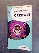 ORZOWEI - Alberto Manzi - Ed. Bompiani - 1967