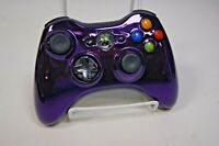 Xbox 360 Special Edition Chrome Series Purple Wireless Controller Official