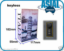 Combination Digit Keyless Lockable Metal Book Box Safe Italy