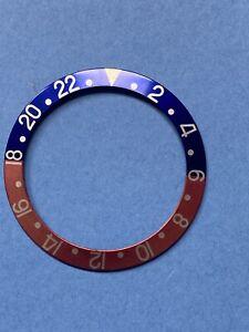 Original Vintage Rolex 1675 Bezel Red Blue Fat Font