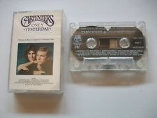 THE CARPENTERS - ONLY YESTERDAY - UK 1990 CASSETTE ALBUM AMC1990 A&M RECORDS  EX