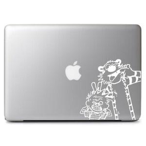 "Calvin & Hobbes Art Cartoon Vinyl Decal for Apple Macbook Air & Pro 13"" 13.3"""