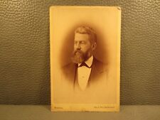 Victorian Antique Photo Cabinet Card of an Older Man
