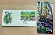 2004 Malaysia 100 Years Matang Mangroves Mini-Sheet Stamp FDC