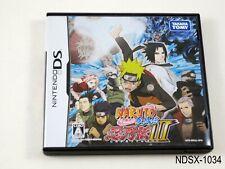 Naruto Shippuden Shinobi Retsuden 3 Nintendo DS Japanese Import NDS JP US Seller