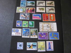 Japan Stamps Assorted Stamps from 1974-1980 Never Hinged Unused Lot 6
