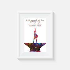 Aufdruck Poster Heim Dekor Zitat Hamilton Musical Bild Wandkunst Geschenk