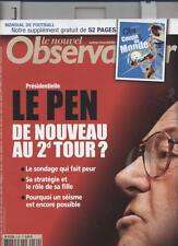 Le Nouvel Observateur   N°2169   1 Au 7 Juin 2006: Le pen