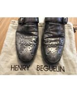 • henry beguelin silver shoes