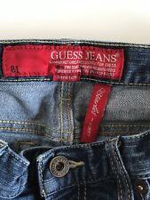 Women's Guess Blue Jeans Starlet Skinny Leg Stretch Size 27 Medium Wash Denim