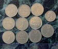 Lot of 12 Golf Coins Golf Driving Range Tokens no cash value