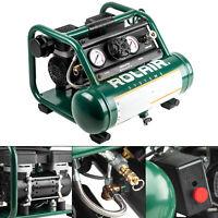 Rolair AB5Plus Portable Hand Carry Air Compressor 1/2 HP 1 Gallon 1 CFM Oilless