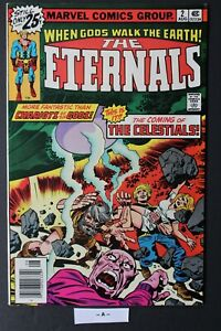 ETERNALS #2 1st CELESTIALS, AJAK, Judge JACK KIRBY 1976 NEW Marvel MOVIE FVF 7.0