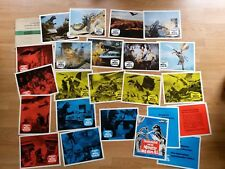 TOHO - Godzilla: DESTROY ALL MONSTER-  23 German lobby cards !  MOTHRA Rodan