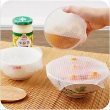 Multifunctional Reusable Transparent Silicone Cover Film Cover Fresh Lid Stretch