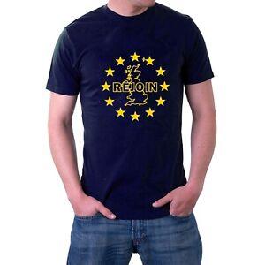 Rejoin Europe Brit T-shirt UK Map Tee EU Europe Stars Brexit Tee