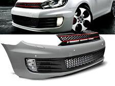 PARE CHOC, CALANDRE, VW GOLF 6 GTI STYLE PDC, trous pour les capteurs