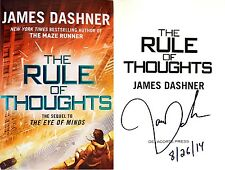 James Dashner~SIGNED & DATED~The Rule of Thoughts~1st/1st HC~Beautiful!
