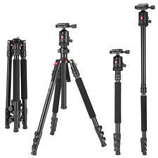 ZOMEI Professional Heavy Duty Tripod Monopod&Ball head stand For DSLR Camera DV
