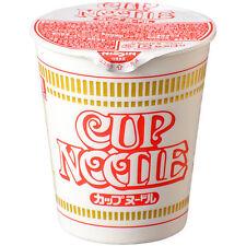Nissin Instant Cup Noodles Japanese Ramen Original Soy Sauce Flavour 77g