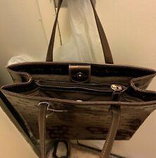 New fashion Leather handbag, Harrods, Brown,