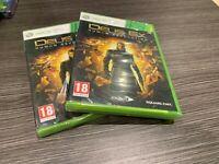 Deus Ex Human Revolution Xbox 360 Versiegelt Neu IN Spanisch