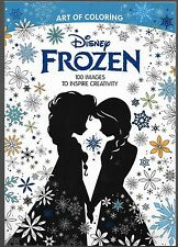 Art Of Coloring Disney Frozen Adult Coloring Book 100 Images To Inspire